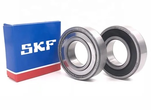 90 mm x 140 mm x 24 mm  SKF 7018 ACD/HCP4AH1 angular contact ball bearings